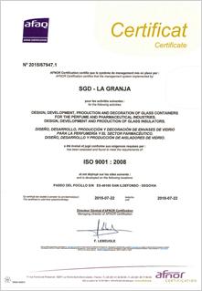 Certificat SGD LA GRANJA